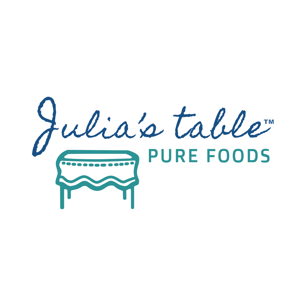 Julia's Table Logo - Keto Certified by the Paleo Foundation