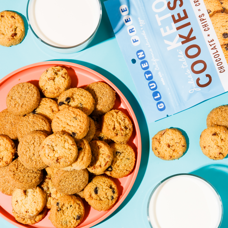 Keto Cookies 2 - Julia's Table - Keto Certified by the Paleo Foundation