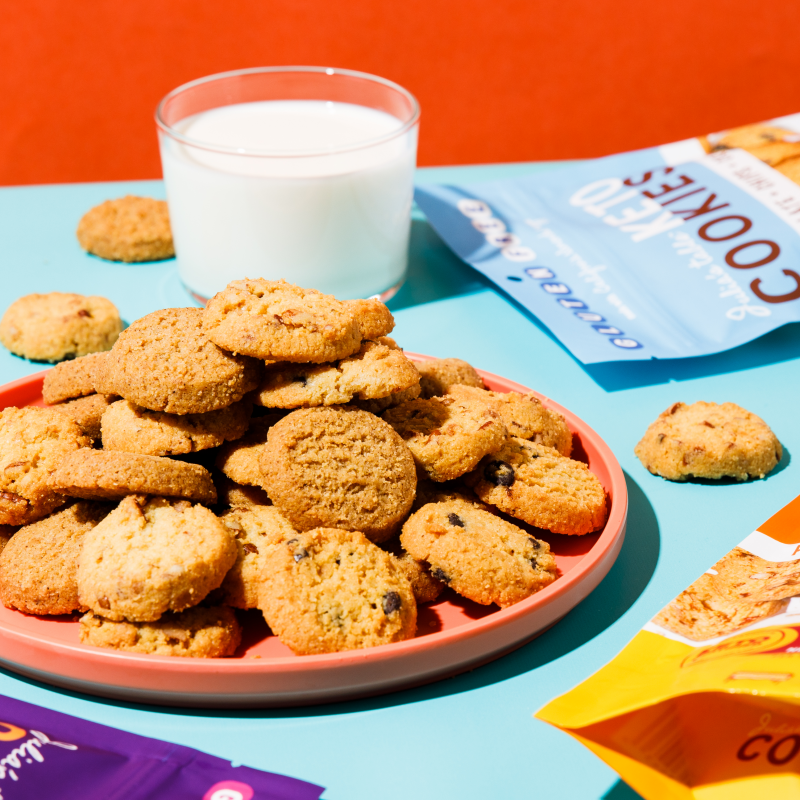 Keto Cookies With Milk 3 - Julia's Table - Keto Certified by the Paleo Foundation