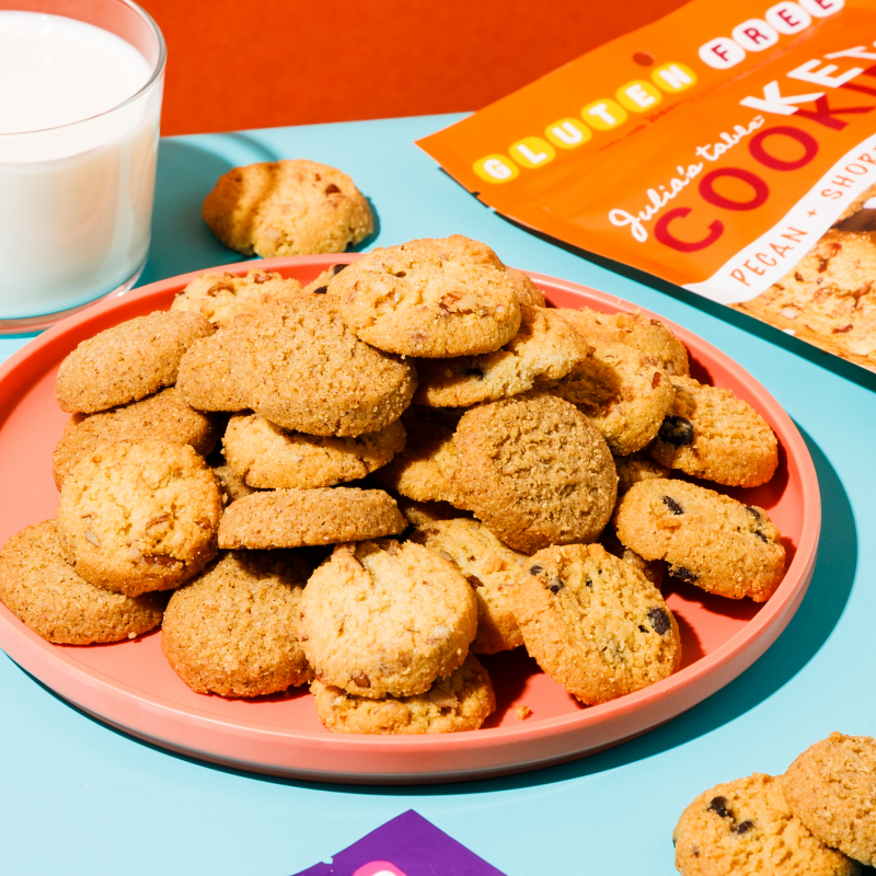 Keto Cookies With Milk - Julia's Table - Keto Certified by the Paleo Foundation