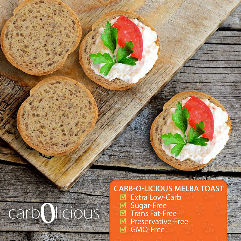 Low Carb Bread - Carbolicious - Keto Certified by the Paleo Foundation