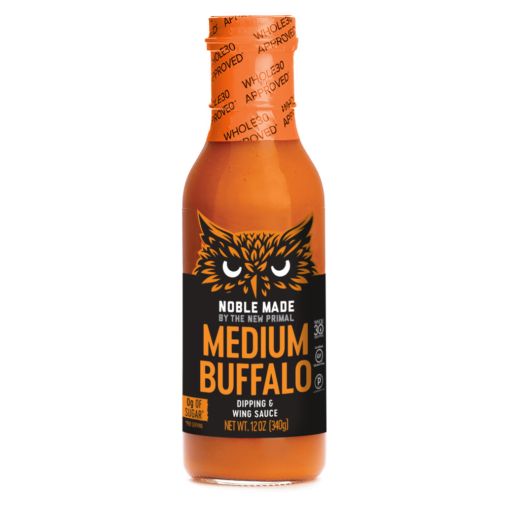 Medium Buffalo - The New Primal - Certified Paleo Keto Certified by the Paleo Foundation