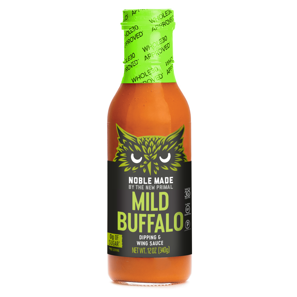 Mild Buffalo - The New Primal - Certified Paleo Keto Certified by the Paleo Foundation