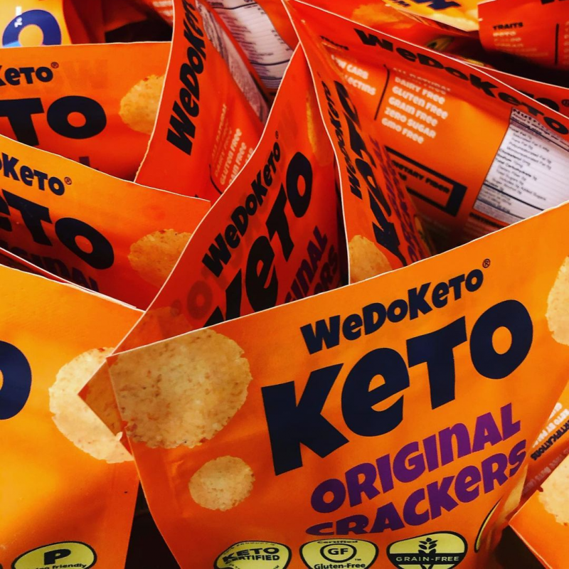 Mixed Cracker Packages - WeDoKeto - Keto Certified by the Paleo Foundation