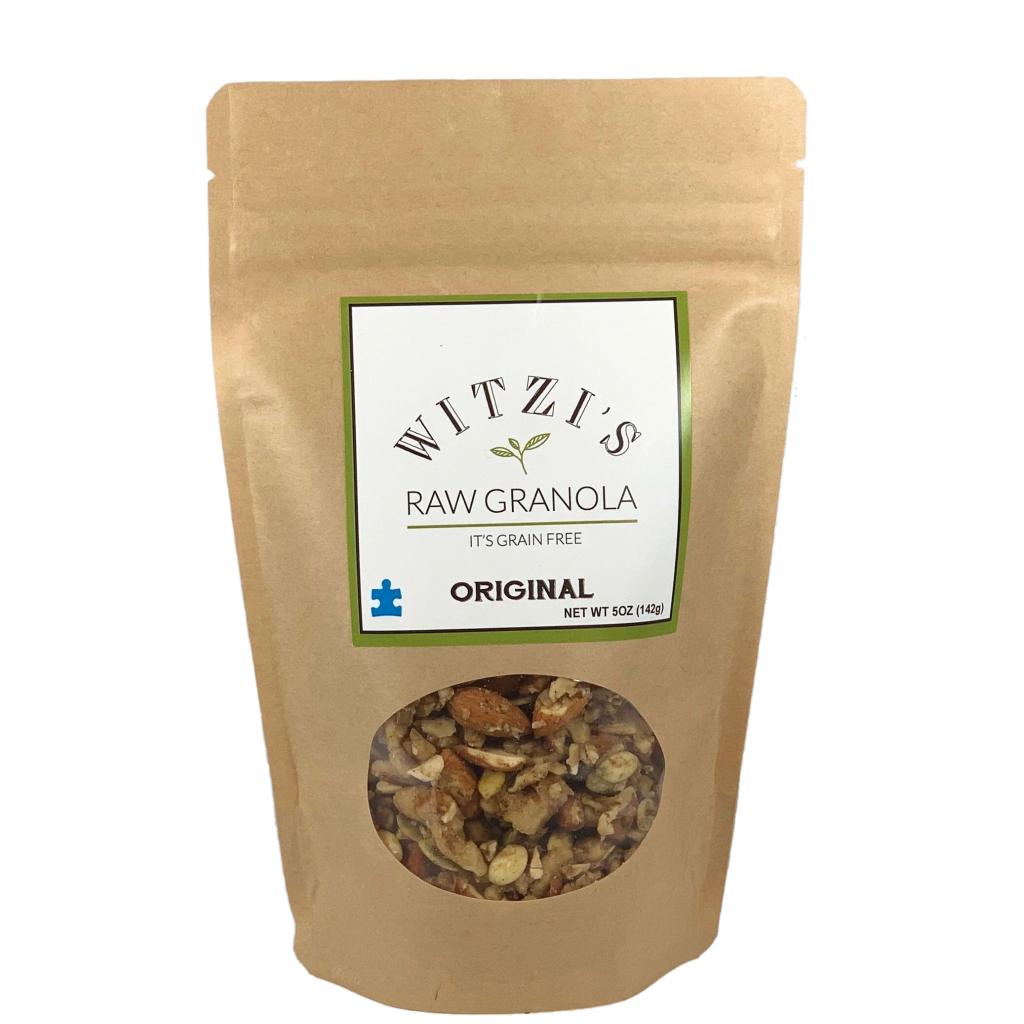 Original - Witzi's Raw Granola - Certified Paleo Keto Certified by the Paleo Foundation