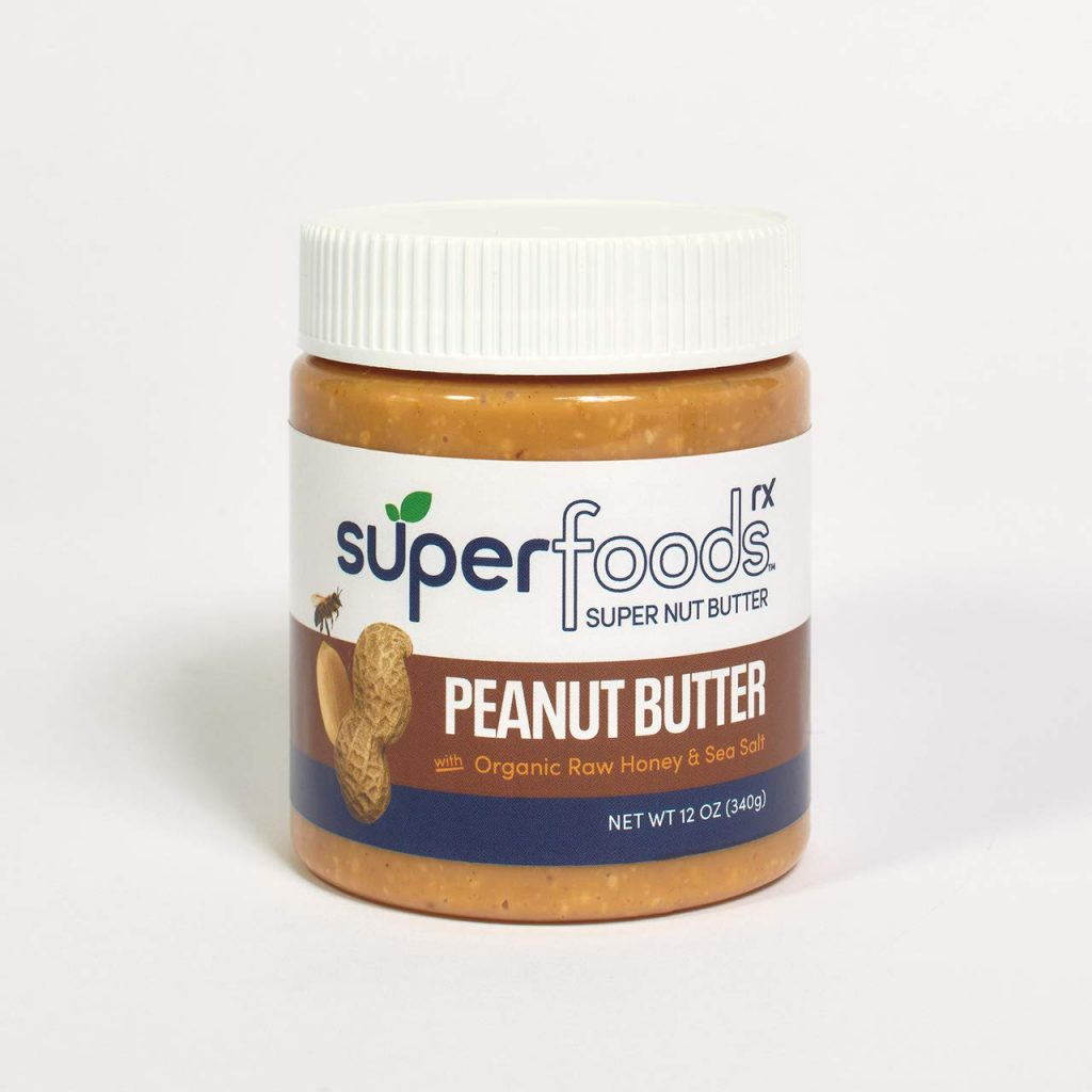 Peanut Butter with Organic Raw Honey - SuperFoodsRx - Keto Certified by the Paleo Foundation