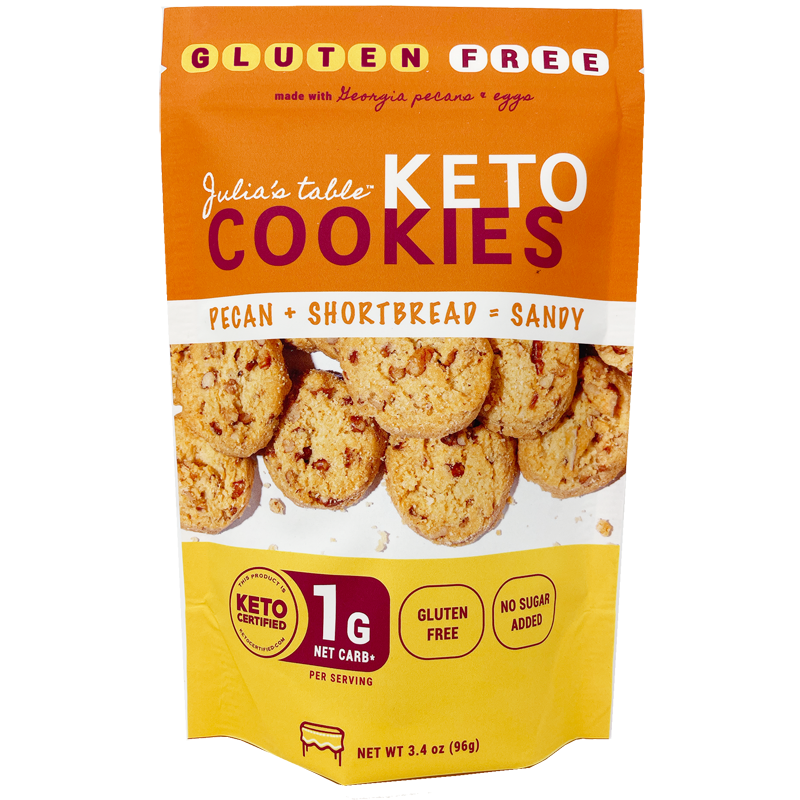 Pecan Shortbread Cookies - Julia's Table - Keto Certified by the Paleo Foundation