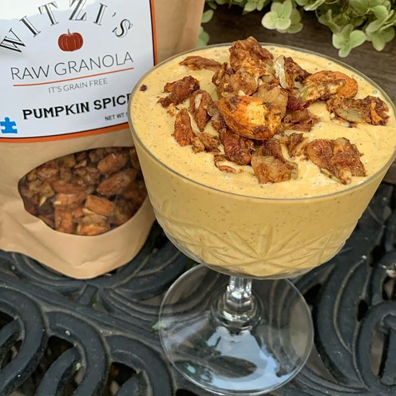 Pumpkin Spice Raw Granola - Witzi's Raw Granola - Certified Paleo Keto Certified by the Paleo Foundation