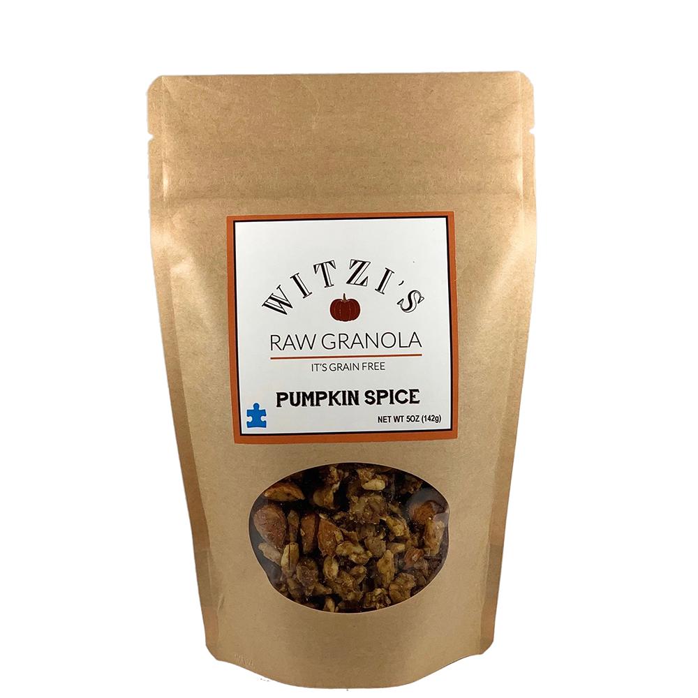Pumpkin Spice - Witzi's Raw Granola - Certified Paleo Keto Certified by the Paleo Foundation
