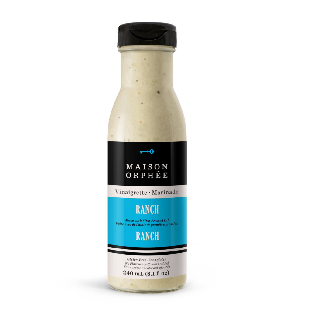 Ranch Vinaigrette-Marinade - Maison Orphee - Keto Certified by the Paleo Foundation