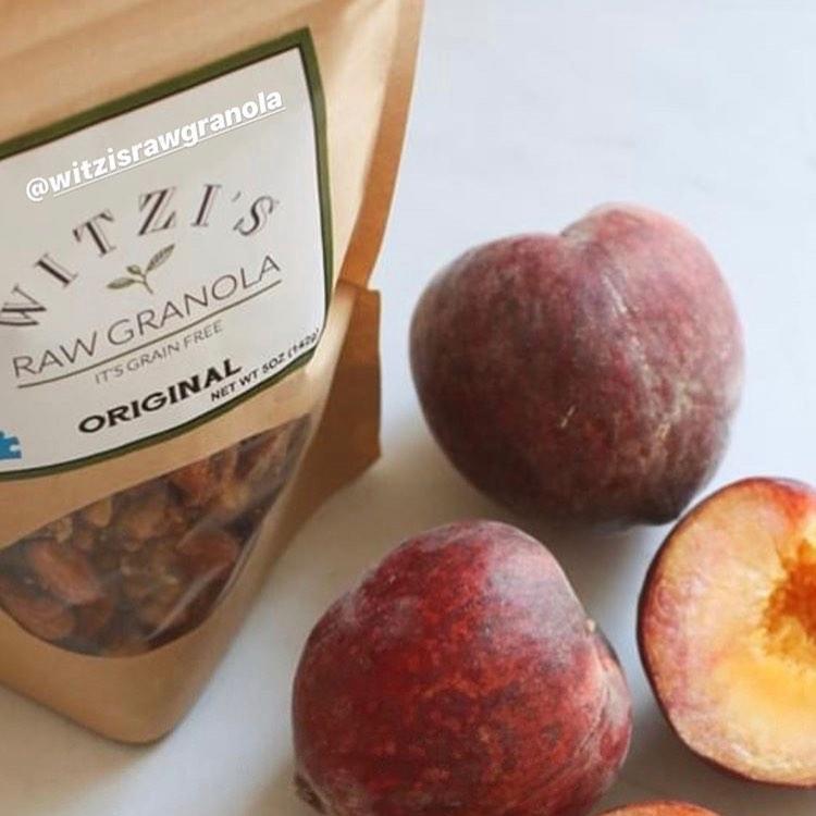Raw Granola Original with Fruit - Witzi's Raw Granola - Certified Paleo Keto Certified by the Paleo Foundation