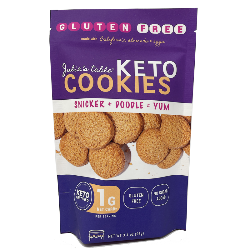 Snickerdoodle Cookies - Julia's Table - Keto Certified by the Paleo Foundation