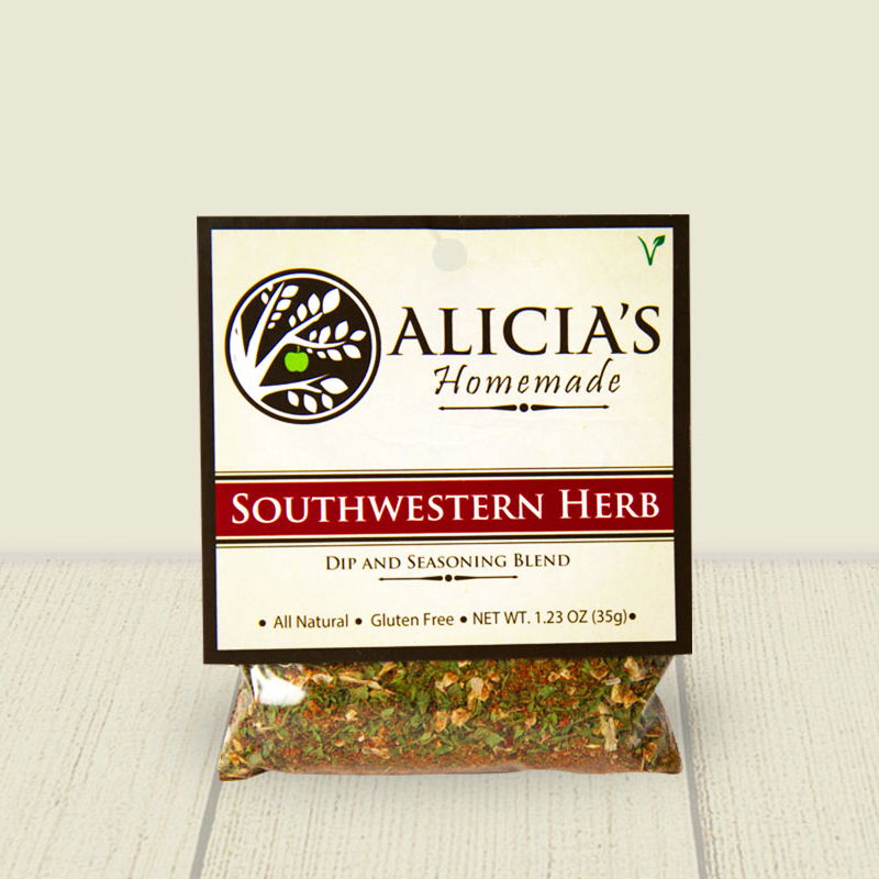 Southwestern Herb Seasoning Blend - Alicia's Homemade - Keto Certified by the Paleo Foundation