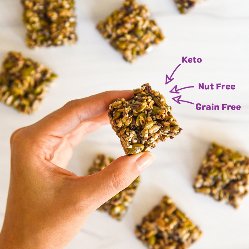 Super Seed Crunch Clusters - Ozery Bakery - Keto Certified by the Paleo Foundation