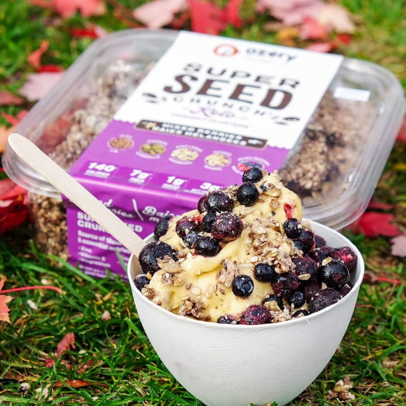 Super Seed Crunch Mixed Berry - Ozery Bakery - Keto Certified by the Paleo Foundation