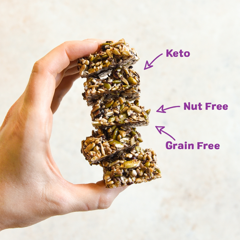 Super Seed Crunch - Ozery Bakery - Keto Certified by the Paleo Foundation