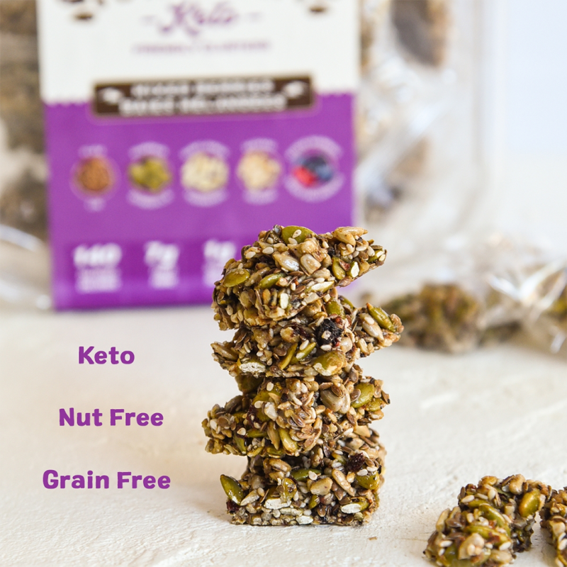 Super Seed Crunch Stack - Ozery Bakery - Keto Certified by the Paleo Foundation