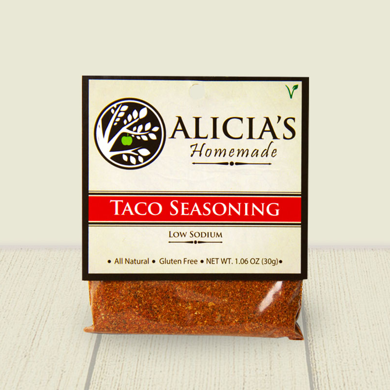 Taco Seasoning Blend - Alicia's Homemade - Keto Certified by the Paleo Foundation