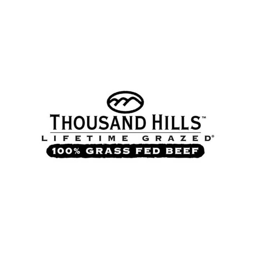 Thousand Hills Lifetime Grazed Logo - Certified Paleo Keto Certified by the Paleo Foundation