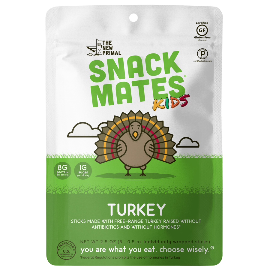 Turkey SnackMate - The New Primal - Certified Paleo by the Paleo Foundation