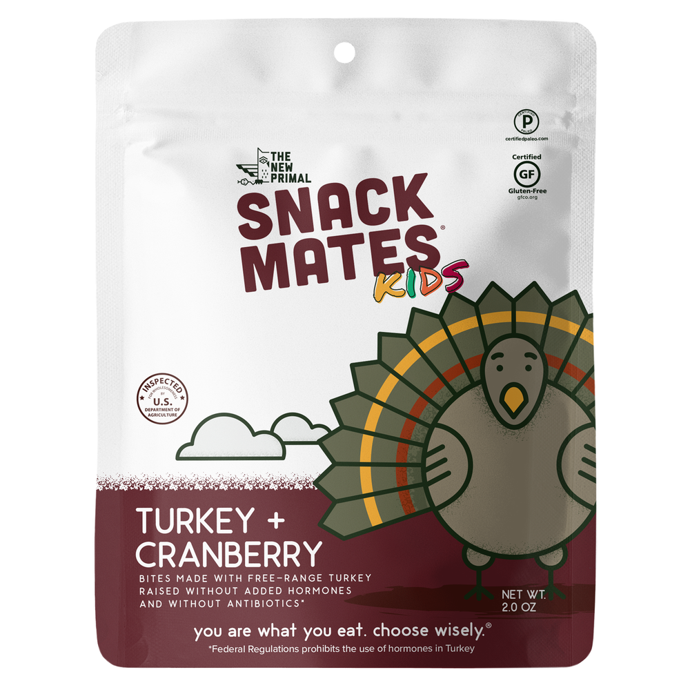 Turkey and Cranberry SnackMates - The New Primal - Certified Paleo by the Paleo Foundation