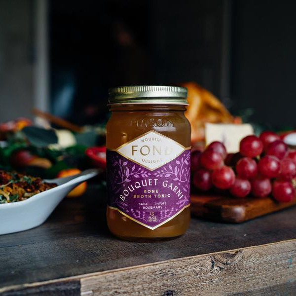 Bouquet Garni With Grapes - Fond Bone Broth - Certified Paleo by the Paleo Foundation