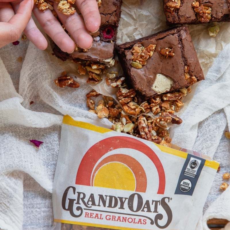Coconola In Brownies - Grandy Oats - Keto Certified by the Paleo Foundation