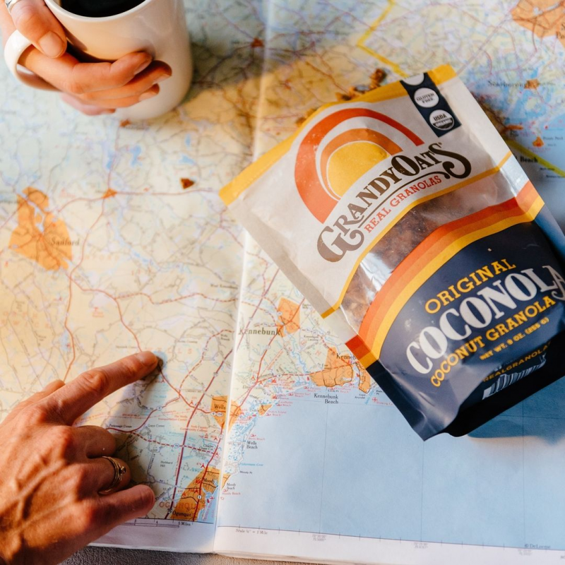 Coconola On A Map - Grandy Oats - Keto Certified by the Paleo Foundation