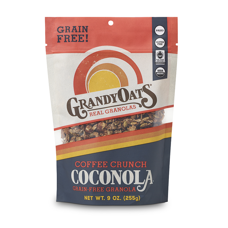 Coffee Crunch Coconola - Grandy Oats - Keto Certified by the Paleo Foundation