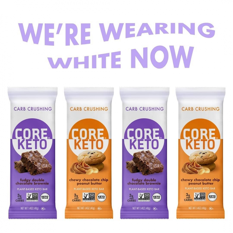 Keto Bar Lineup - Core Foods - Keto Certified by the Paleo Foundation