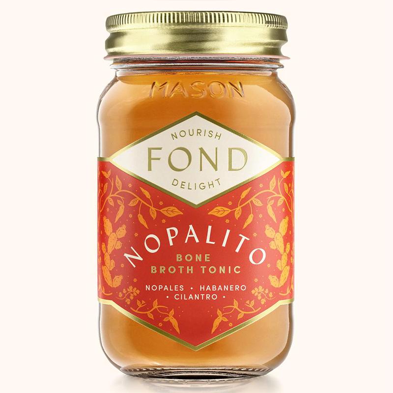 Nopalito - Fond Bone Broth - Certified Paleo by the Paleo Foundation