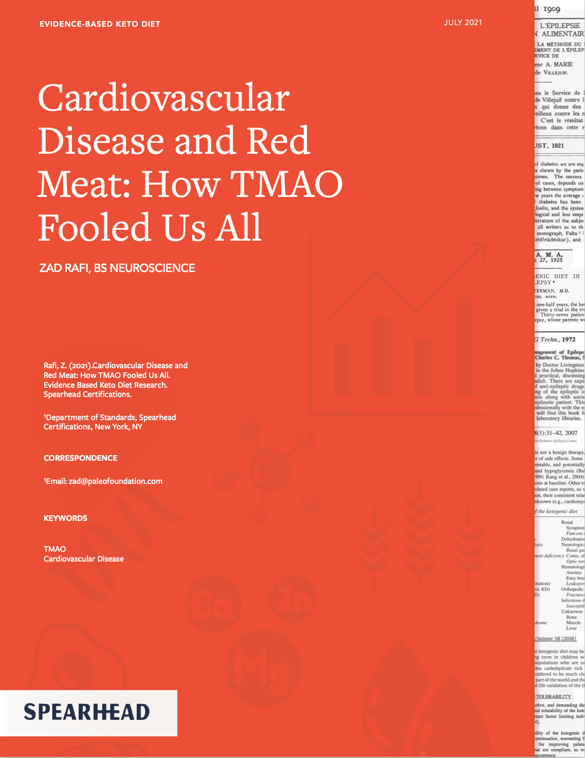 Cardiovascular Disease and Red Meat: How TMAO Fooled Us All