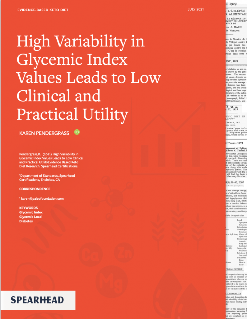 High Variability in Glycemic Index Values Leads to Low Clinical and Practical Utility