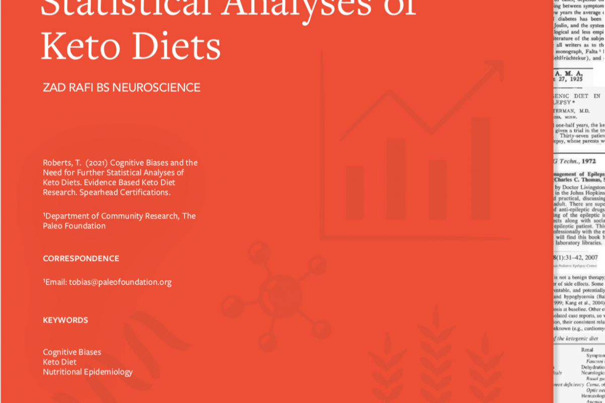 Zad Rafi: The Need for Further Statistical Analyses of Keto Diets